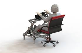 Playseat Office Chair White by Diy Modified Office Chair For Wheel And Flight Sim Diy Plans