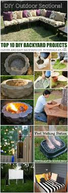 DIY Backyard Top 10 Projects At The36thavenue.com Pin It Now And ... Backyards Fascating 25 Best Ideas About Backyard Projects On Stunning Inspiring Outdoor Fire Pit Areas Gardens Projects Ideas On Pinterest Patio Fniture Decorations Handmade Garden Bystep Itructions For Creative Pin By Cathy Kantowski The Diy And Top Rustic Pits House And 67 Best Long Short Term Frontbackyard Images Diy Home