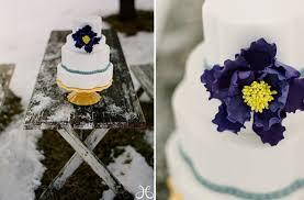 winter wedding white purple wedding cakes full