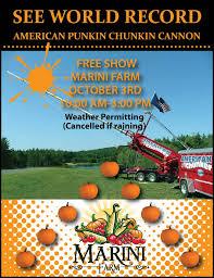 Pumpkin Chunkin Delaware Festival 2014 by Marini Farm U0026 Corn Maze World Record American Punkinchunkin