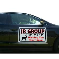 Amazon.com : Custom Vehicle Magnetic Signs ( Free Design For You ...