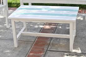 Build Outdoor Patio Set by Easy 15 Diy Outdoor Coffee Table Free Plans Anika U0027s Diy Life