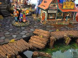 Lemax Halloween Village Displays by 131 Best Halloween Village Display Images On Pinterest Beautiful