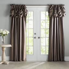 Joss And Main Curtains by Hallman Ruched Faux Silk Taffeta Thermal Rod Pocket Single Curtain