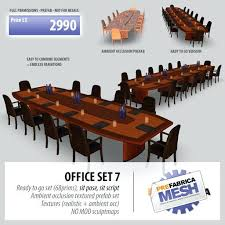 conference room table and chair sets block table meeting quarter