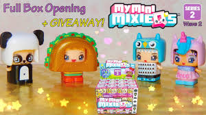 Full Box Opening Series 2 Wave 2 My Mini MixieQ s