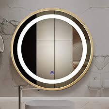 de smart led beleuchtete spiegel runde touch