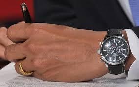 comment porter une montre barack obama passe à l heure rolex le point montres