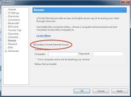µTorrent Remote Sign Up