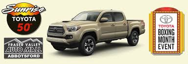 Sunrise Toyota | New Toyota Dealership In Abbotsford, BC V2T 5M1 2015 Toyota Tacoma Prerunner In Flagstaff Az Pheonix Truck Month Jim Gusweiler Auto Group Washington Court House Oh 1995 Pickup Overview Cargurus 2012 Tundra 2017 Reviews And Rating Motor Trend The Freshed 2014 Arrives Dealerships At The End New Cars And Trucks That Will Return Highest Resale Values Used Hi Lux Invincible Chelmsford Essex From 37965month Us Light Vehicle Sales Increase January Rubber Plastics Lease Specials Serving Concord Grappone Heavyduty
