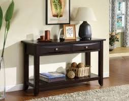 Living Room Table Sets With Storage by Sofa Table With Storage Drawers Foter