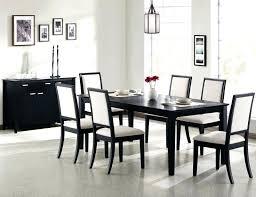 Black Dining Room Table Sets Most Popular Inspirational