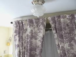 144 To 240 Inch Adjustable Curtain Rod by Luxury Shower Curtains For Corner Baths Shower Curtains For