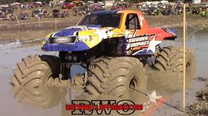 100 Monster Truck Fails A REAL MONSTER TRUCK GOES MUDDING FAIL YouTube