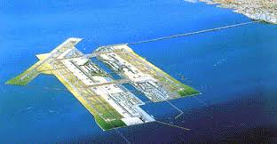 Kansai Airport Japan Sinking by Osaka Airport Visit And Pictures At Travelzie Com