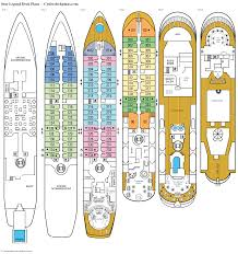 Carnival Splendor Deck Plans by Carnival Imagination Deck Plan Radnor Decoration