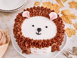 igel torte mit pdf schablone