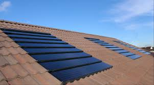 roof amazing new roof tiles solar panels on tile roof tremendous
