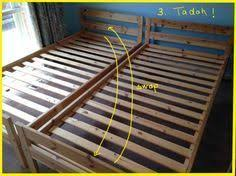 mydal bunk bed to single beds ikea hackers bunk bed ikea