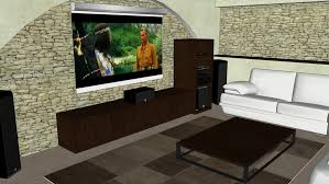 home cinema room 3d warehouse