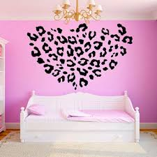 Leopard Print Room Decor by Leopard Print Wall Stickers Home Design