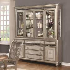 coaster danette server and china cabinet with led lighting value
