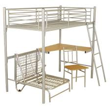 Bunk Bed Over Futon by Bunk Bed With Futon Metal Futon Bunk Beds Bunk Bed Futon Ikea