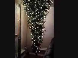 Upside Down Christmas Tree Installation 2013