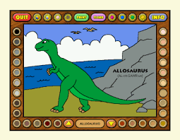 Dinosaur Coloring On Screenshot Review Downloads Of Shareware Book 2 Dinosaurs