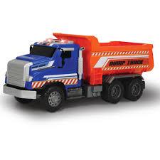 100 Red Dump Truck Light And Sound Mighty Dump Truck Walmartcom