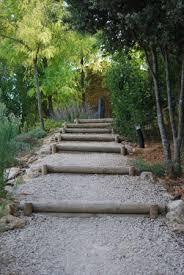 escalier rondins les chroniques de menu jardin