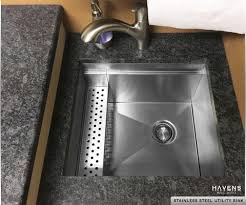 Stainless Steel Utility Sink by Custom Stainless Steel Sinks Usa Made Havens Metal