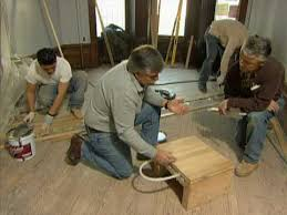 how to install radiant heat a solid wood floor this
