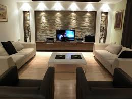 Living Room Design Ideas With Placement Tv At Center Place Ideal Best Decorating