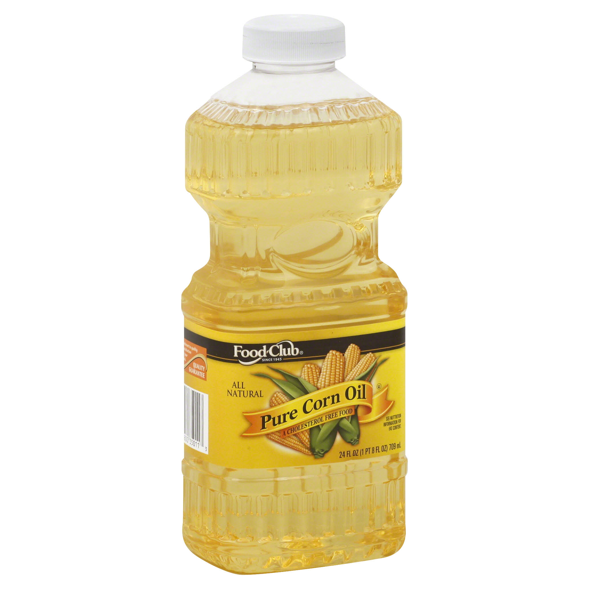 Food Club Corn Oil, Pure - 24 fl oz