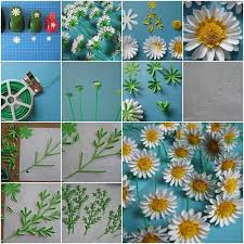 How To Make Perfect Paper Daisies
