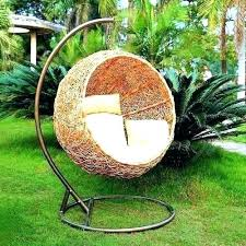 Round Hanging Chair Swing Cushions Outdoor