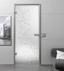 glastüren aus klarglas glastüren mit motiv