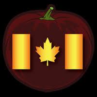American Flag Pumpkin Carvings by Canadian Flag Co Stoneykins