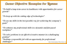 Teachers Awesome Examples Professional Objectives For Resume Sample Career