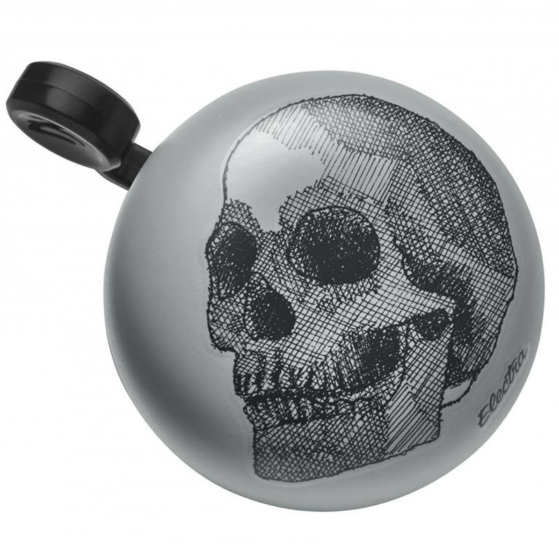 Electra Domed Ringer Bike Bell Skull