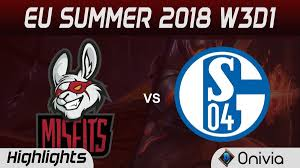 MSF Vs S04 Highlights EU LCS Summer 2018 W3D1 Misfits Gaming Vs FC ...