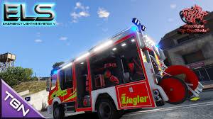 100 Gta 4 Fire Truck Mod SGTA5de MercedesBenz Atego HLF Tpfe Script ELS German