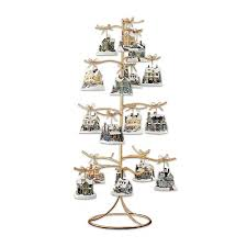 Amazon Gold Wire Ornament Tree Display By The Bradford Exchange Home Kitchen