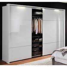 nolte möbel schwebetürenschrank marcato 2 3 mit fronten aus weißglas breite 300 cm
