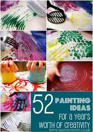 20 Must Try Painting Techniques For Kids Lots Of Fun Ideas That Your Will Love