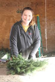 Fraser Fir Christmas Trees Kent by Rainbow U0027s End Christmas Tree Farm Offers Unique Cork Bark Fir