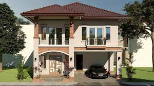 104 Housedesign House Design With 5 Bedrooms 9x11 Youtube