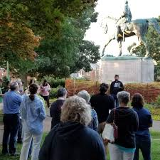 Virginia Pastors Lead Bible Study At Confederate Monument