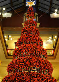 Sydneys Historic Strand Arcade Featured A Tree That Held 2000 Baubles 1000 Fairy Lights And
